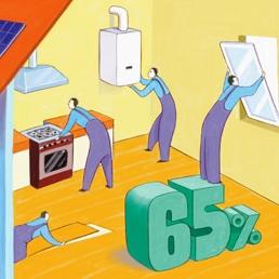 Ristrutturazione con ampliamenti: installazione di caldaie esclusa dal bonus 65%