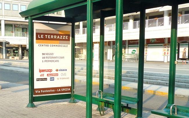 L\'imposta sulla pubblicità «risparmia» il cartello della fermata ...