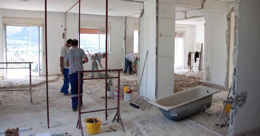 Detrazione per interventi di recupero del patrimonio edilizio via libera solo a lavori ultimati - Lavori di ristrutturazione casa ...