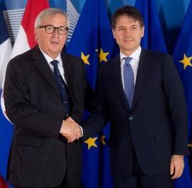 """""""Buoni progressi sono stati fatti, la Commissione europea valuterà ora le proposte ricevute questo pomeriggio: i lavori continueranno nei prossimi giorni"""", riferisce una portavoce della Commissione al termine dell'incontro tra Juncker e Conte a Bruxelles"""