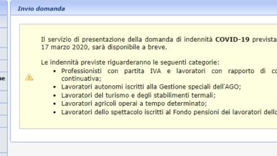 Photo of Domanda bonus 600 euro: ecco la procedura passo per passo. Si parte il primo aprile